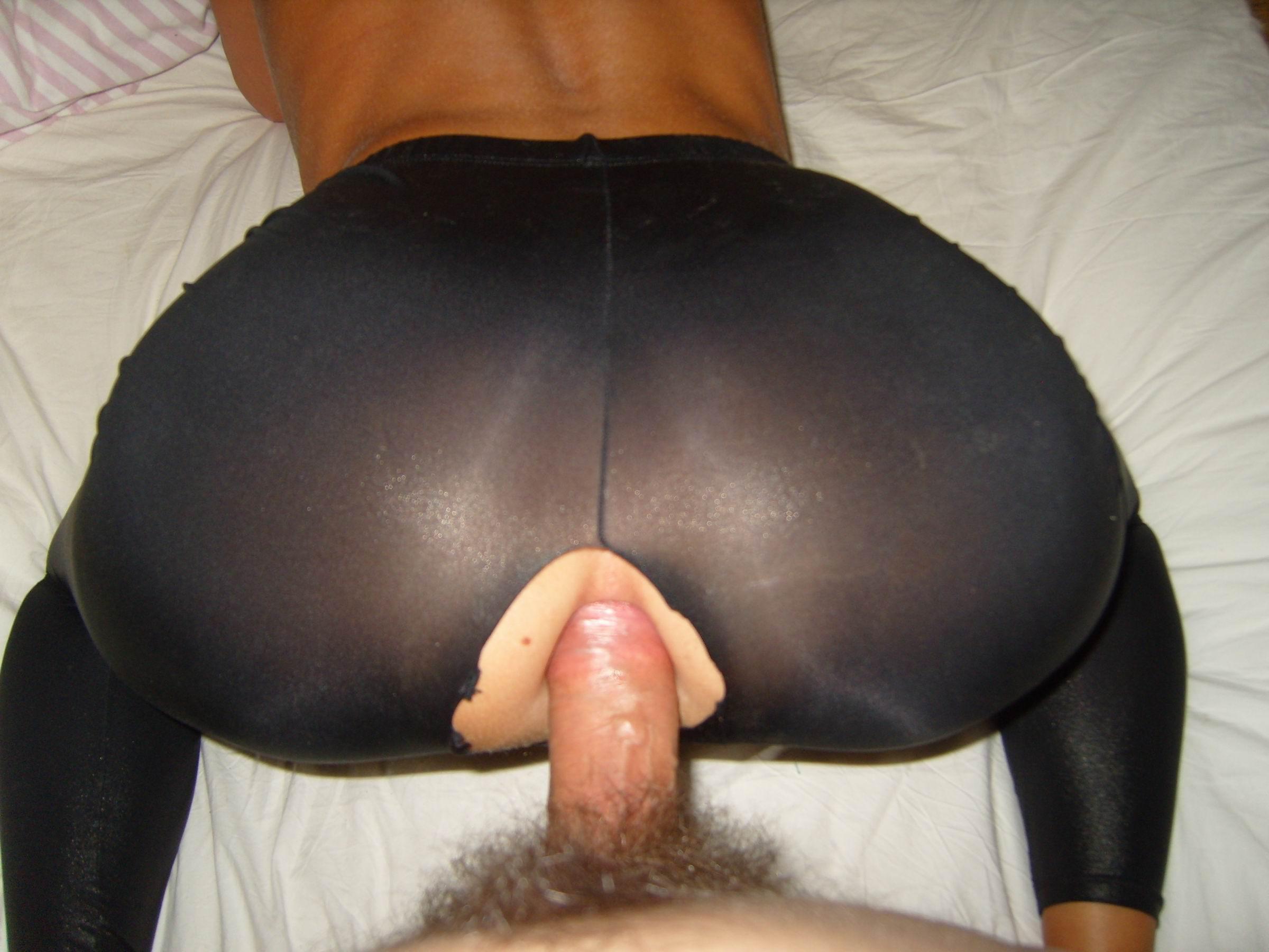 Попы в лосинах секс