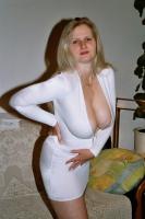 White-V-Dress - N