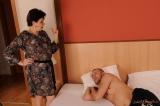 Grandma Goldee almost faints - N