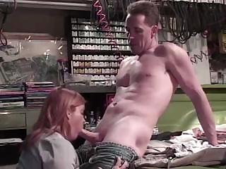 Porno Video of Fat Mature Red-haired Chick Gets Nailed To The Bed By Angry Dick