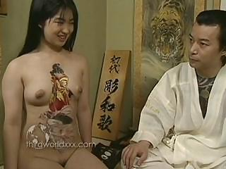 Porno Video of Fun With Tattooed Asian Slut