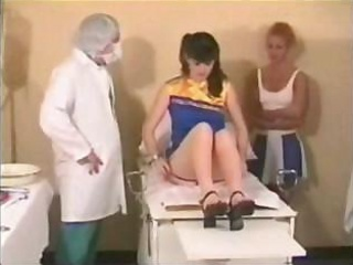 Porno Video of Two Dirty Doctors Use This Cute Girls Ass For Their Sexual Experiment