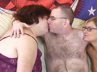 Porno Video of Nasty Hairy Husband Has A Wonderful Time With His Wife And Her Friend