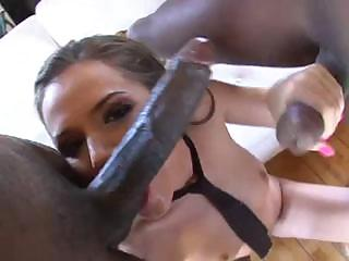 Porno Video of Lascivious Hooker Tori Black Is Looking Forward To Meeting Black Handsome Dick
