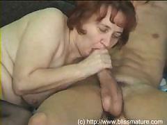 Секс старая русская бабка с внуком