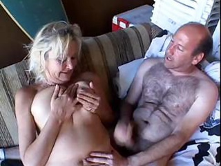 Porno Video of Blonde Granny Anal