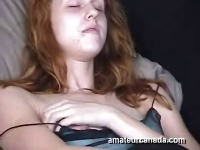 Porno Video of Geek Horny Jessica Amateur Redhead Babe Upskirt Masturbation