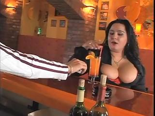Porno Video of Big Tits Horny Lady Fucks In The Bar