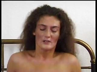 Sex Movie of Mom With A Real Bush Growing In Her Panties Gets Fucked In Her Bed