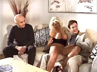 Porno Video of Dirty Old Kink Hires A Young Gigolo For His Oversexed Wifey