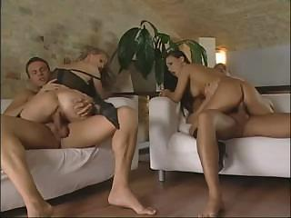 Porn Tube of Bambola And Valentina Foursome