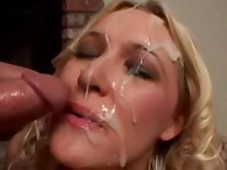 Porno Video of Huge Cumshot Compilation On Pretty Faces