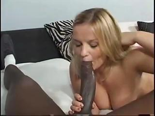 Porno Video of Blonde Cutie Goes After The Monster Cock And Gets It In The Eye