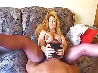 Sex Movie of Older Babe Gets Herself Going Before The Stiff Dick Walks In