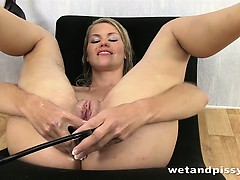 Dildo riding chastity porn