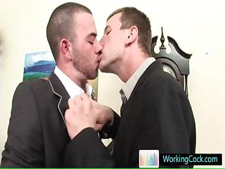 Porno Video of Job Interview Resulting In Hot Steamy Gay Porn By Workingcock