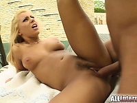 Nikky s tight little pussy gets hammered hard and filled with a big load of sperm   Pornstar Video Updates
