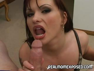 Sex Movie of Redhead Milf Is A Blow Machine