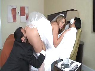 Porno Video of Alanah Rae Is A Hot Bride Who Gets A Large Cock For Her Pleasure