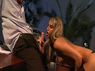 Sex Movie of Beautiful Secretary Aleska Diamond Gives Her Boss A Great Fuck