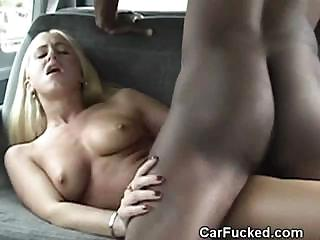 Porno Video of Interracial In Backseat