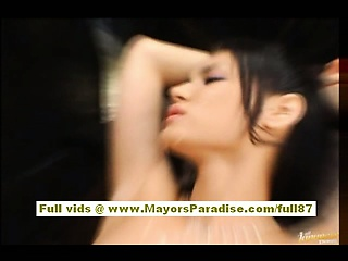 Maria Ozawa and Yuki Osawa Asian dolls playing and licking pussy