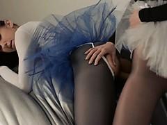 Порно на улице долго ломалась