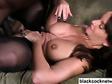 Janet mason and mandingo on couch | Big Boobs Update