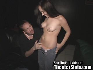 Porno Video of Sierra Having Group Sex In A Seedy Porn Theater