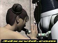 3D Animation_ Robot Captive