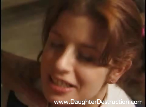 Porno Video of Young Daughter Brutally Hatefucked By Daddy