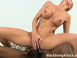 Big black dong fucking a white pussy   Big Boobs Update