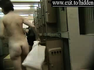 Spying many nude Amateurs in Dressing Room