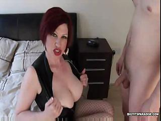 Sex Movie of Trudi Stephens Is A Horny Milf Who Gets Fucked Hard On The Bed