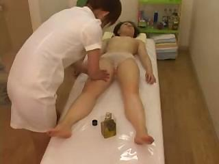 Porn Tube of Japanese Woman Gets A Full Body Massage On All Of Her Parts