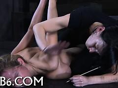 Смотреть порно 2 члена одна телка
