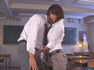 Asian teacher honoka