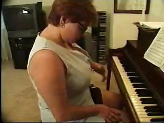 Porno Video of Nasty Piano Teacher Is Getting Brutally Fucked