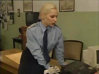 Porno Video of Office Sex With A Hot Blonde Who Lays Out On The Table To Fuck