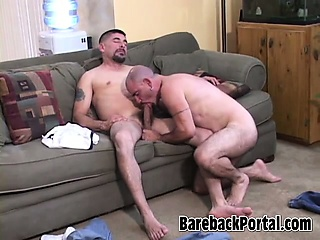 Hardcore mature bear scene