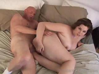 Porno Video of Sexy Chubby Marley Mason Sucks His Cock Before Fucking Him