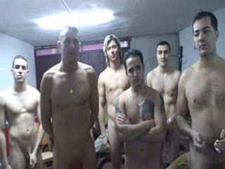 Porn Tube of Spanish Hottie Gangbang
