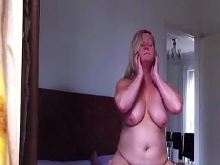 Porno Video of Big Chunky Blonde Likes To Get Fucked While Sitting On Top