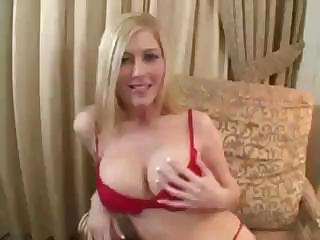 Porno Video of Busty Michelle Barrett Sucks On His Cock And Fucks For Facial