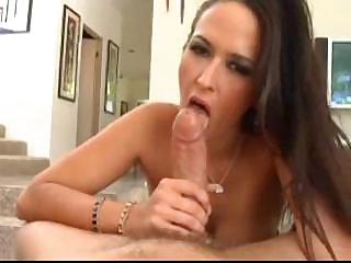 Porno Video of Carmella Uses Her Big Tits And Mouth Before Bending Over To Get Fucked