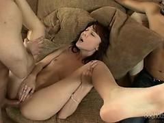 Струйный оргазм изнутри