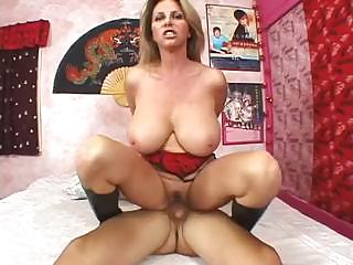 Porno Video of Busty Penny Porsche Sucks His Cock And Then Takes It Deep