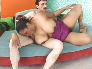 Sex Movie of Big Tit Milf Sucks And Gets His Hard Rod Deep In Her Pussy