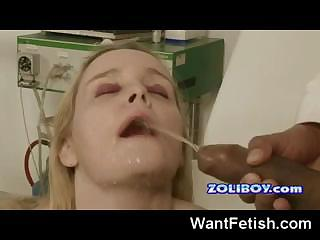 Porno Video of Gyno Pissing Exam!