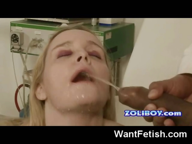 Porn Tube of Gyno Pissing Exam!